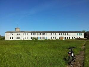 Une partie de l'ancien camp de L'OTAN à Croix-Chapeau près de La Rochelle
