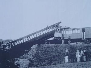 Accident sur l'ancienne ligne Fourvière Ouest-Lyonnais (FOL)