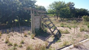 Ancien camping abandonné de l'île de Ré - Aire de jeu pour les enfants