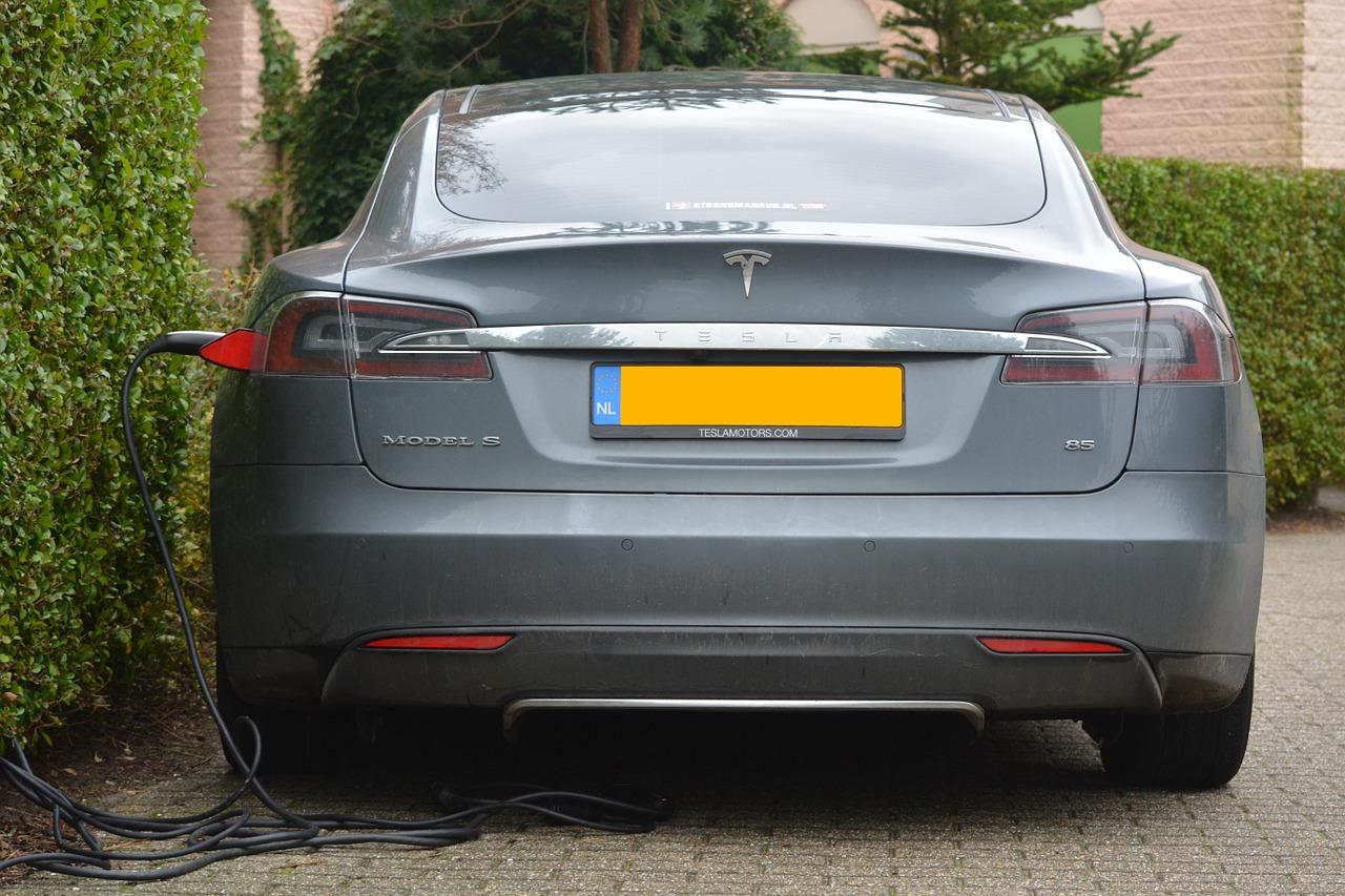La berline Model S, le premier véhicule conçu et construit par Tesla Motors