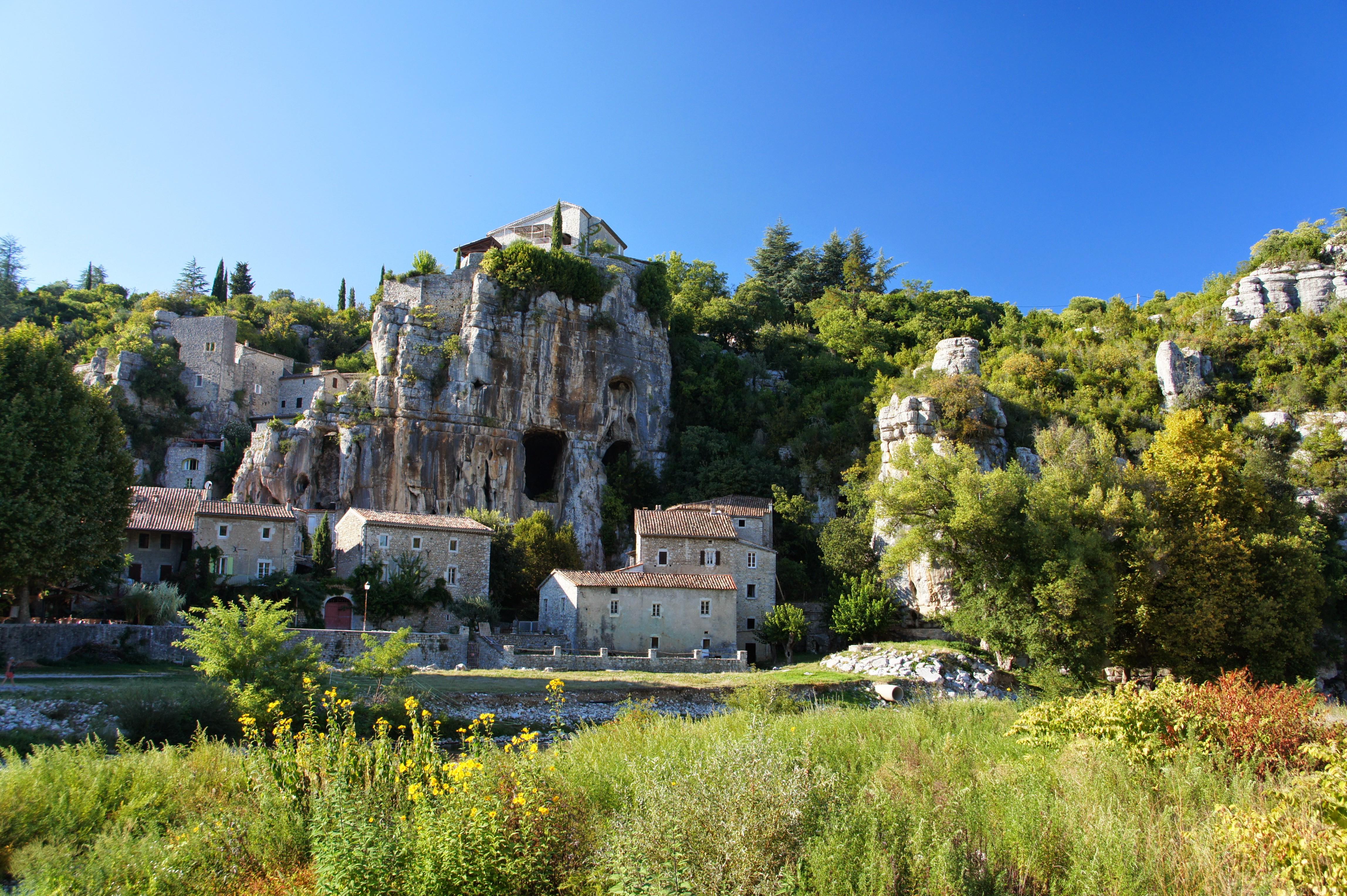 Le village de caractère de Labeaume (Ardèche), septembre 2013 (crédit photo : Marc Sivignon)