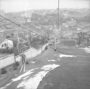 Piste de ski de La Sarra (Lyon 5e / Bertrand, Tony : Adjoint aux Sports)